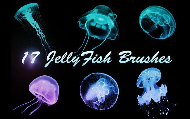 Медузы Кисти для Adobe Photoshop