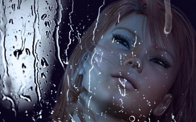 Вода на стекле кисти для Adobe Photoshop